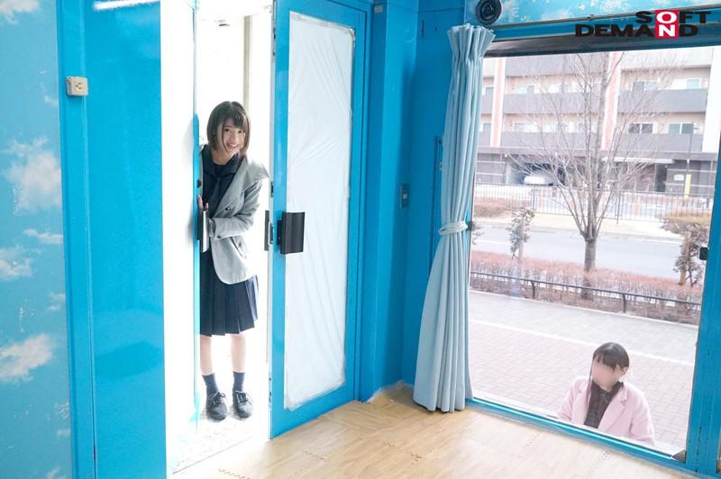ゆきちゃん(18)女子〇生 マジックミラー号 よだれが出ちゃうくらい気持ちよくなってくれた敏感娘! の画像5