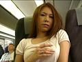 ノーパンノーブラ露出狂女が電車内指ズボオナニーでイキまくり!!!! 14