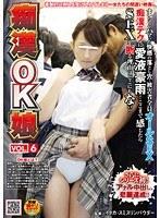 「痴漢OK娘 VOL.6」のパッケージ画像