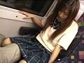 対面座席で脚を絡ませても抵抗しない女子校生はシートに染みがつくほど感じていた 3 8