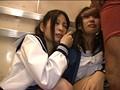 いつも一緒の女子校生2人組を同時痴○でみせつけて感じさせろ!! 18