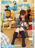「猫カフェでみつけたガードの甘いパンチラ娘は店内で触られても断れない」のパッケージ画像