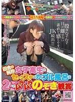 「田舎の純粋女子校生とセックス中のカップル風呂を2人でムラムラのぞき観賞」のパッケージ画像