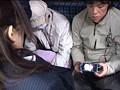 路線バスで読み捨てられたエロ本をパンツ濡らしながら覗き見する眼鏡娘 13