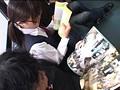 路線バスで読み捨てられたエロ本をパンツ濡らしながら覗き見する眼鏡娘 サンプル画像8