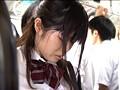同級生に気づかれ恥ずかしさで助けを求めず見られながら痴漢に感じる女子校生 サンプル画像5