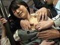 満員バスで無理やりイカされ放心状態の女に尻コキ発射 13