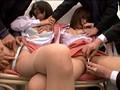 屋上で昼休み中の女子社員を拘束張り付けイカセ放置 10