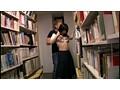 図書館で声も出せず糸引くほど愛液が溢れ出す敏感娘 10 5