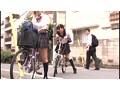 自転車の椅子に媚薬を塗られ通学路でも我慢できずサドルオナニーをするほど発情しまくる女子校生 2