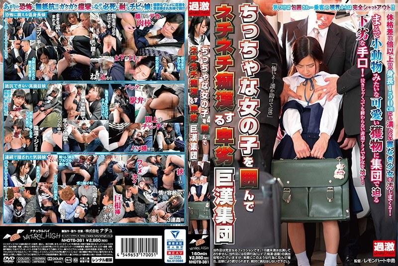 ちっちゃな女の子を囲んでネチネチ痴●する卑劣巨漢集団 パッケージ画像