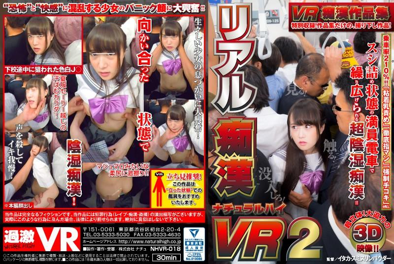 【VR】VR痴漢作品集のサンプル画像2