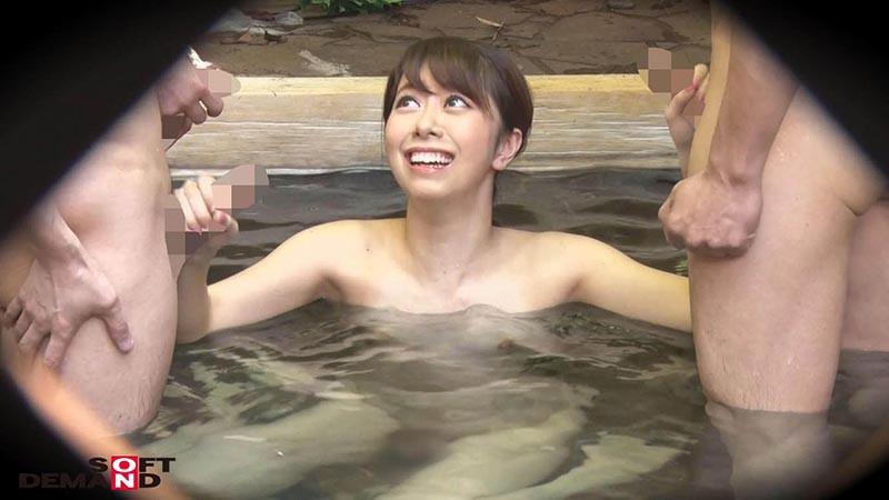 ゆり(18)推定Cカップ 箱根湯本温泉で見つけたお嬢さん タオル一枚 男湯入ってみませんか? の画像4