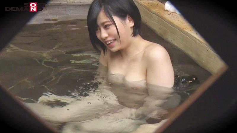 ゆか(20)推定Dカップ 箱根湯本温泉で見つけたお嬢さん タオル一枚 男湯入ってみませんか? の画像14