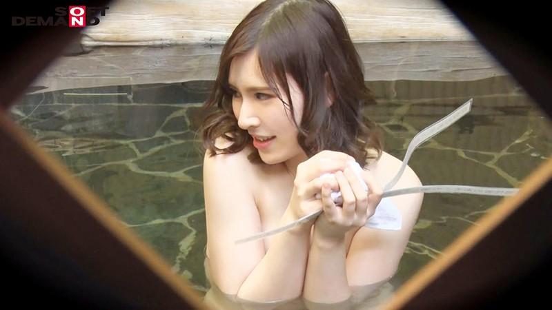 かおり(24)推定Fカップ 箱根湯本温泉で見つけたお嬢さん タオル一枚 男湯入ってみませんか? の画像11