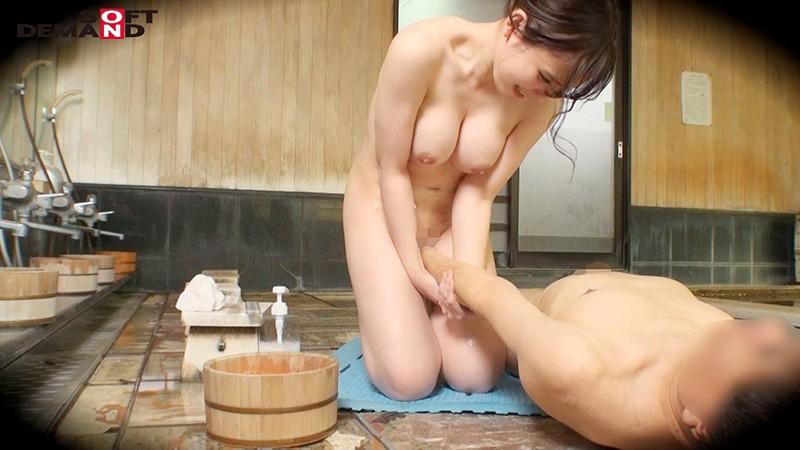かおり(24)推定Fカップ 箱根湯本温泉で見つけたお嬢さん タオル一枚 男湯入ってみませんか? の画像10