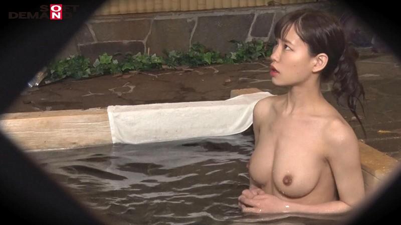 あいり(23)推定Eカップ 箱根湯本温泉で見つけたお嬢さん タオル一枚 男湯入ってみませんか? の画像5