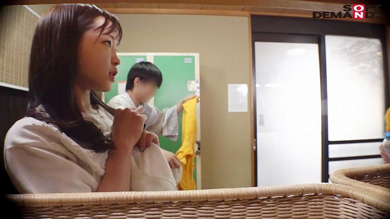 あいり(23)推定Eカップ 箱根湯本温泉で見つけたお嬢さん タオル一枚 男湯入ってみませんか? の画像13
