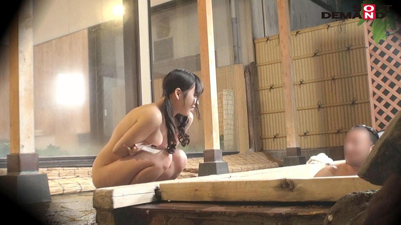 くるみ(23)推定Hカップ 箱根湯本温泉で見つけたお嬢さん タオル一枚 男湯入ってみませんか? の画像8