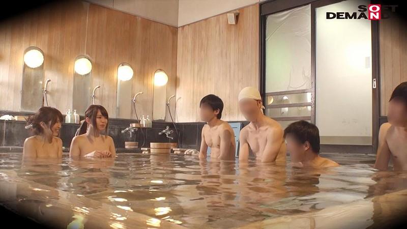 ゆう(23)推定Fカップ なつ(23)推定Eカップ 箱根湯本温泉で見つけたお嬢さん タオル一枚 男湯入ってみませんか? の画像6