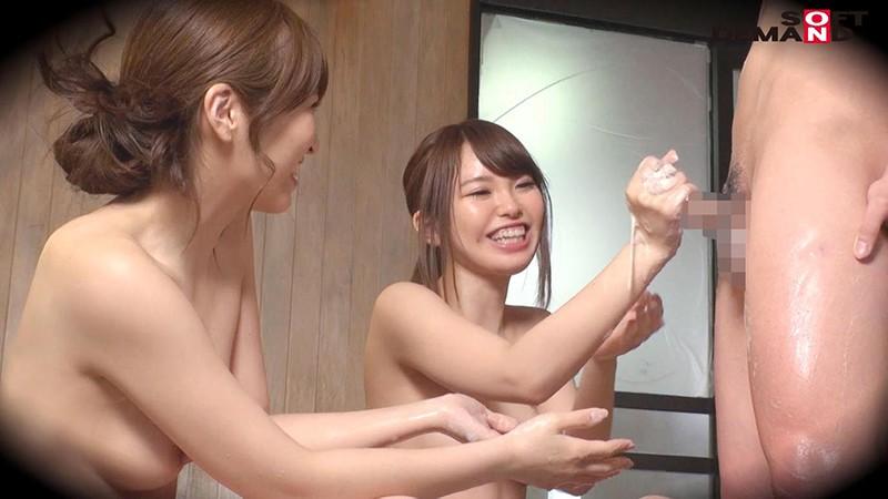ゆう(23)推定Fカップ なつ(23)推定Eカップ 箱根湯本温泉で見つけたお嬢さん タオル一枚 男湯入ってみませんか? の画像7
