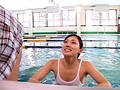 加○あい激似!G県T市で見つけた美人水泳インストラクターをプールでAVデビューさせちゃいます!! 2