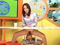 もしもTVの中でパンチラ誘惑する女子アナのマ○コを舐めれたら… 女子アナにクンニ