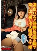 「深夜バスで熟睡する母親の隣で声も出せず感じ出す敏感うぶっ娘」のパッケージ画像