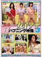 「女子アナHなハプニング映像 パート3」のパッケージ画像