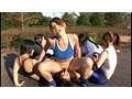 体育会系ガチムチ女子逆レイプ部 サンプル画像3