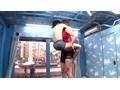 マジックミラー号の天井に頭がついちゃう!高身長アスリート女子がチビ男相手に初めてのバックブリーカーフェラ、逆駅弁FUCKチャレンジ 3