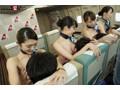 「制服・下着・全裸」でおもてなし またがりオマ○コ航空 9 中出し便 画像11