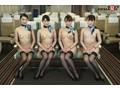 「制服・下着・全裸」でおもてなし またがりオマ○コ航空 9 中出し便 画像2
