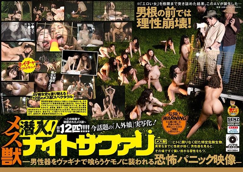 潜入! メス獣ナイトサファリ ―男性器をヴァギナで喰らうケモノに襲われる恐怖パニック映像―のサンプル大画像