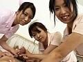 美巨乳美尻美痴女3人の手コキ・胸コキ・尻コキ 6