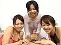 美巨乳美尻美痴女3人の手コキ・胸コキ・尻コキ 8