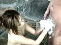 有馬で見つけたお嬢さん タオル一枚 男湯入ってみませんか?