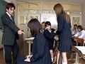 ウブな女子校生が時間を止めて男子生徒のチ○ポにイタズラしまくり! サンプル画像2