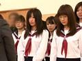 思春期の女子校生には恥ずかし過ぎる校則 校則第7条:学校指定の白下着以外を身につけている生徒はその場で下着とスカートを没収するものとする サンプル画像0