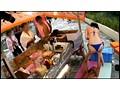 極上巨乳4人娘がイク!!プールサイドでお客さんにバレない様にオマ○コいじられまくりのアルバイト 12