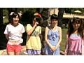 ちびっこ女優4人組!! 迷子のフリして常夏リゾートプールで知らないオジサンにHなイタズラごっこ サンプル画像0