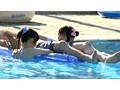 ちびっこ女優4人組!! 迷子のフリして常夏リゾートプールで知らないオジサンにHなイタズラごっこ 6