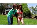 「水着モデル募集」で集まった一般女性が合体ハレンチ水着体験 'おま○こパックリ'の下品なポーズから生ち○ぽ結合!中出し!の野外水着撮影会 1