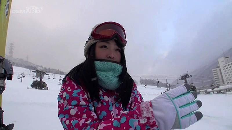 女子アルペンスキー国体12位 超美乳Gカップ!現役スキーインストラクター 青山れん AVデビュー の画像1