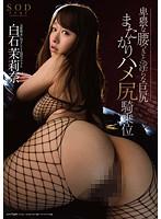 「白石茉莉奈 卑猥な腰つきと淫らな巨尻 またがりハメ尻騎乗位」のパッケージ画像