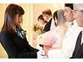 紗倉まな 結婚式最中の新郎に強制中出しさせる美人ウェディングプランナー 画像1