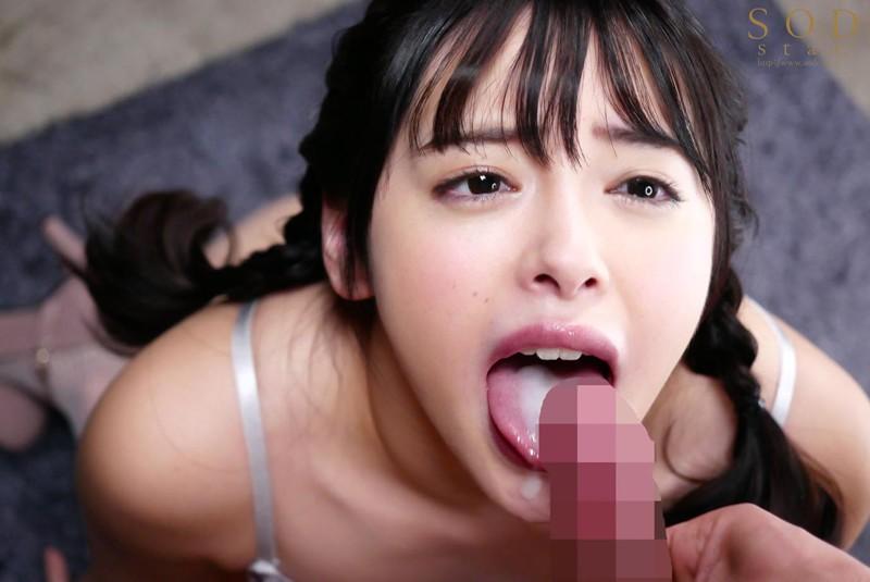 小倉由菜の舌射8