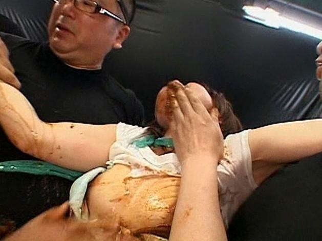 極スカトロ拷問 塗糞・食糞・糞水・男糞 の画像4