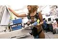 羞恥!AV会社にRUMIKAが半裸OL服で一日入社! サンプル画像11