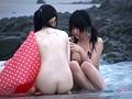 恥女!羞恥!Beachで強制全裸!海に入ったらビキニが溶けた!! 17